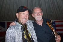 Rod Davis and James Burton